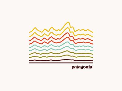 Pata-terrain outdoors nature minimal graphic design design illustration apparel shirt patagonia