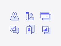 Depth icons