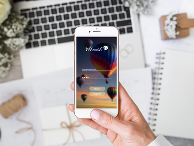 LogIn design app ux  ui