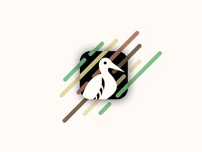 Birdwatching App Icon daily ui nature bird app icon icon daily ui 005 dailyui