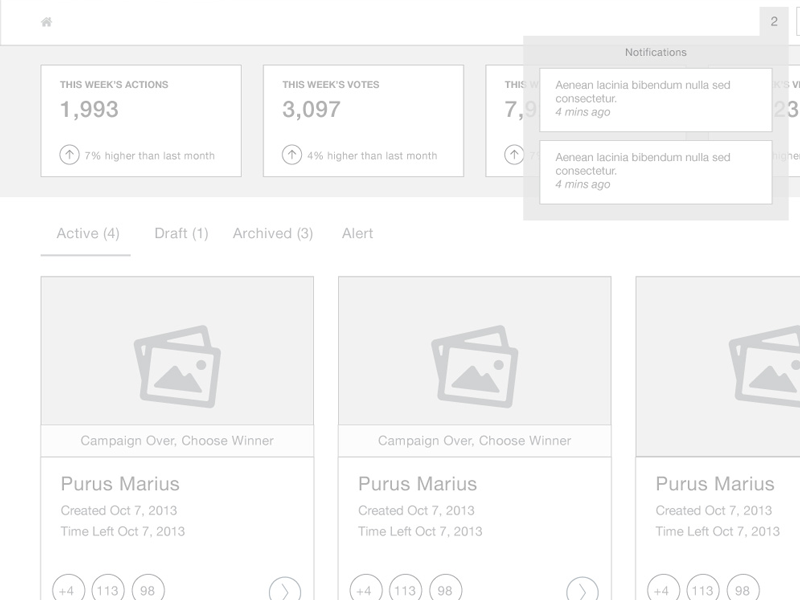 Dashboard Wireframe dashboard wireframe concept cards stats