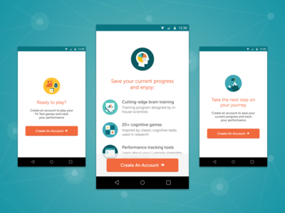 Save Progress Test test android mobile interstitial