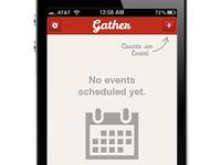 Create Event screen