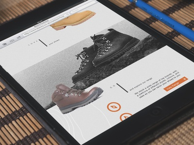 Blacks Outdoor Clothing Landing Page