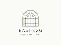 East Egg Initial Logo Sketch