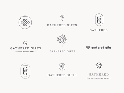 Gathered Logo Exploration