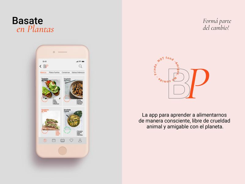 Basate en Plantas identitydesign brand identity ux  ui ux vegan vegan food veganism digitalart digital art storytelling designthinking app design app digital ux design uxdesign ui  ux uiux ui design ui