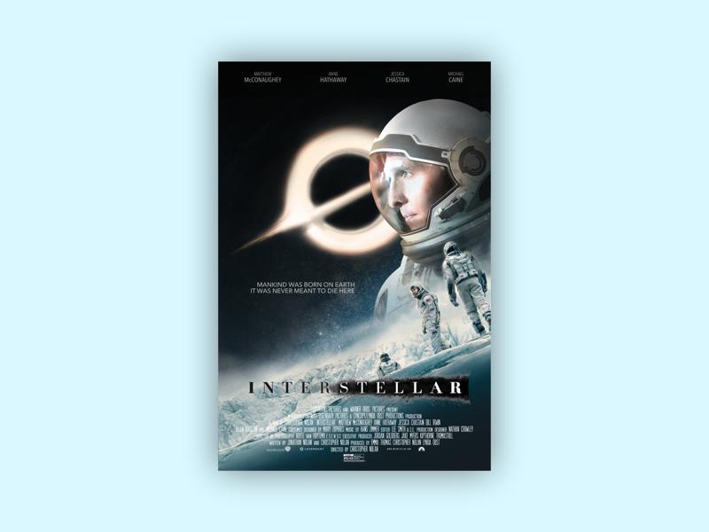 Movie Poster photo manipulation scifi space poster film interstellar movie poster
