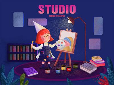 my work studio