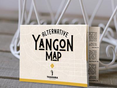 Alternative Yangon Map