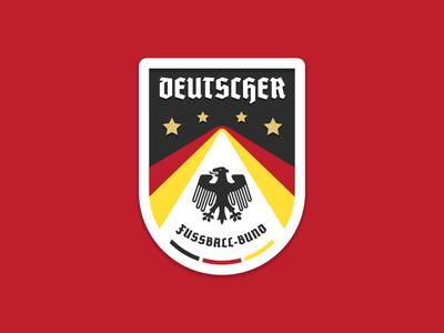 DFC Badge deutsch germany football soccer crest patch badge
