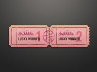 Dribbble Invite Winners