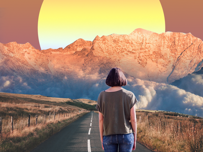 Surreal Girl photoshop photography design graphic design collage