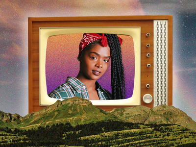 Surreal Girl branding vector illustration photoshop photography design graphic design collage