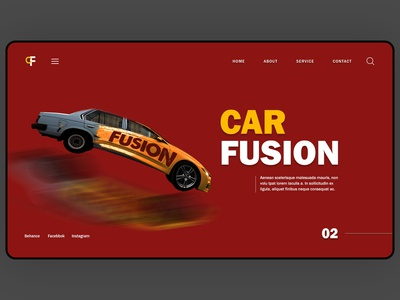 webpage landing page design