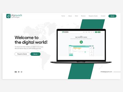 Website Development Services By @DigiQuack designinspiration graphicdesign designapp vector logo app graphic design creative android app webdesign uxdesign uidesign ui appdesign