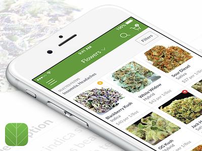 Cancare - Medical Marijuana Delivery App delivery app weed ios cannabis marijuana