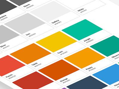Sketch Flat Palette colors freebies freebie palette flat sketch