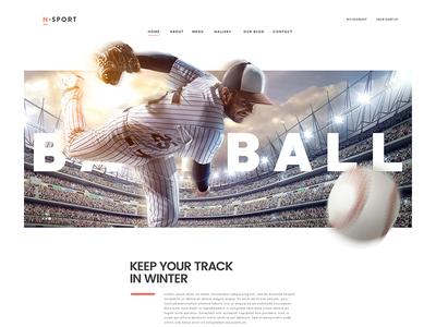 N-Sport home page ecommerce saigon creative fashion sports landing page website designer vietnam hanoi