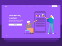 Health care - Landing page
