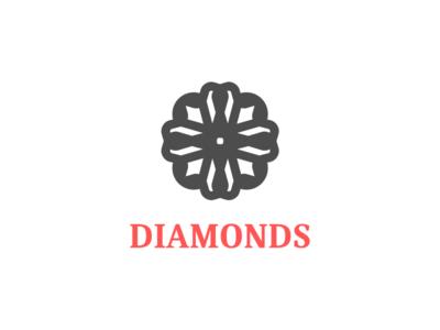 Diamonds diamond diamond logo vector design brand logo branding