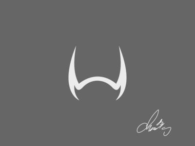 Horn vector icon design brand logo branding