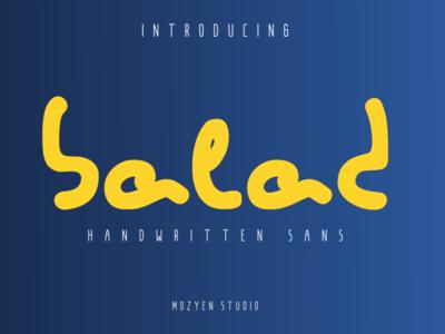 Balad logo branding typography