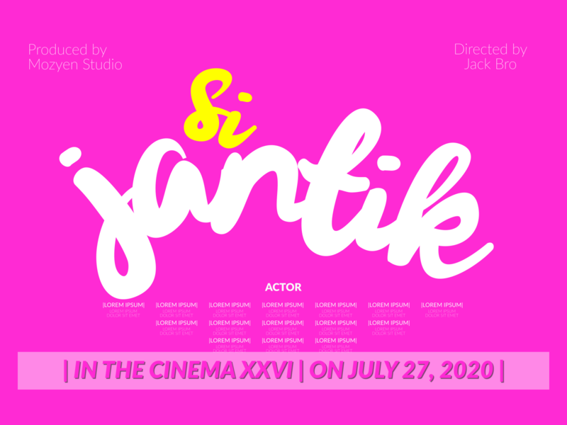 With Gelowing Script script typography brand film titles branding