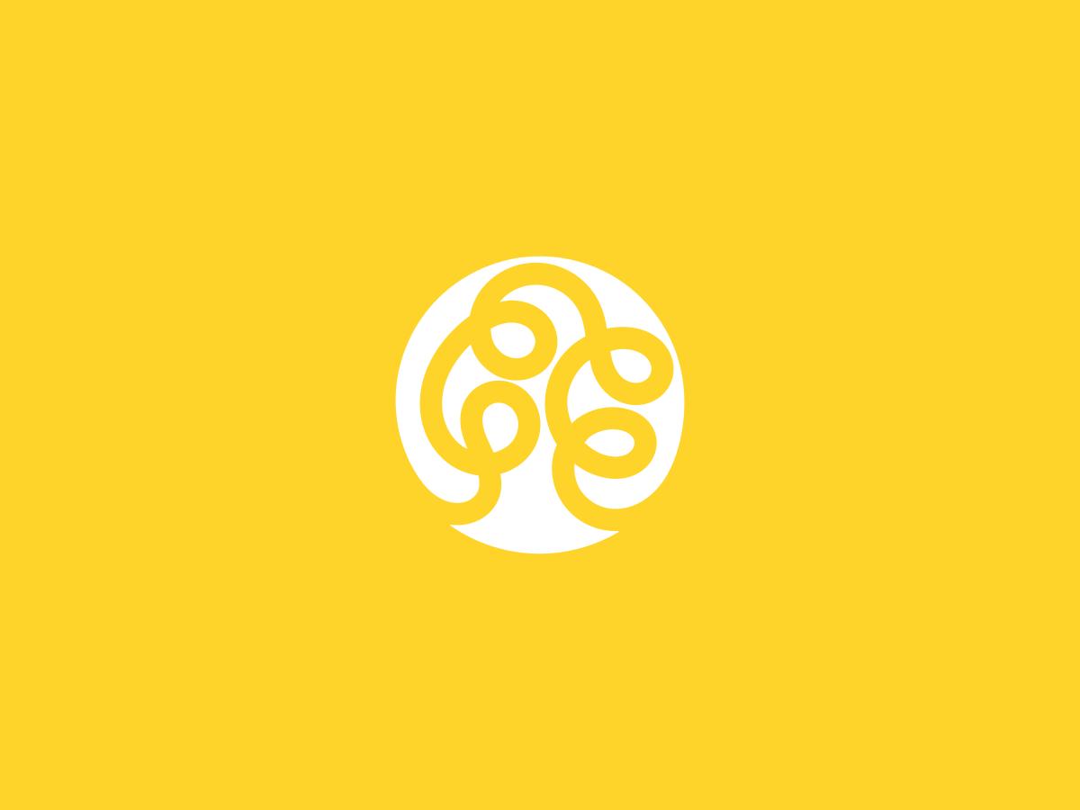 Trees Synergize Logo tree logo brand design icon logo branding