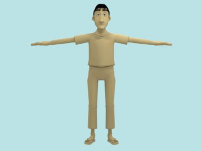 Character Modeling MSTD-001