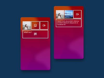 Daily UI 81 minimal mobile app material design design ui dailyui daily 100 challenge daily