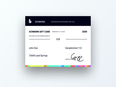 Daily UI 97 credit card giveaways gift card giveaway paper design ui dailyui daily 100 challenge daily