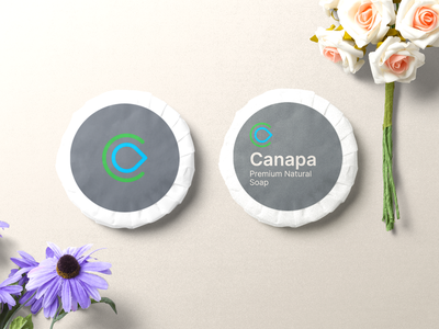 Minimal and Modern packaging design for canapé naturals package design package natural logo cosmetics branding design branding concept modern minimal design branding