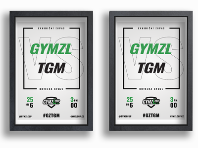 Match Poster - GYMZL Cup Poster flat floorball match posters match invite match poster match design poster design poster