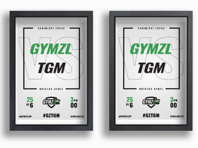 Match Poster - GYMZL Cup Poster