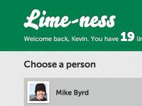 Lime-ness CSS Evolution