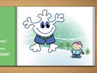 Snowflake Main Character