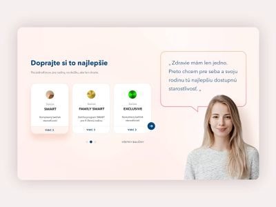 Pricing table medical clinic health care box package warm ux ui clean ui clean landing page web woman pack table compare price
