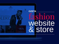 OZETA fashion website and e-commerce