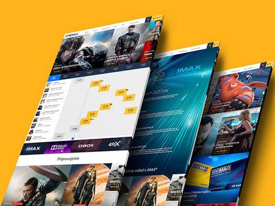 CINEMAX / cinema website