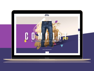 William & Delvin fashion jeans microsite