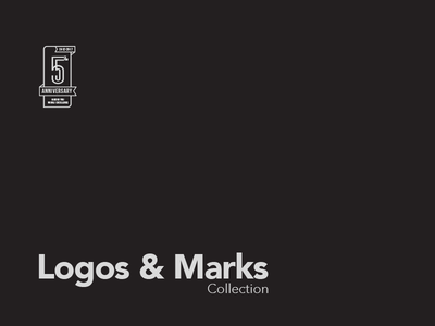 Logos & Marks Collection collection symbol identity brandmark brand woodmark mark logotype logo