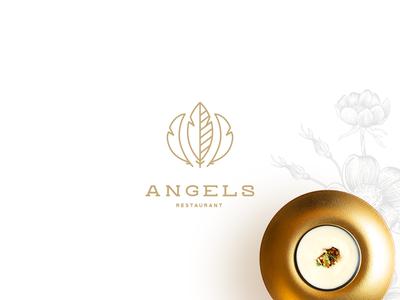 Angels Restaurant Brand Identity