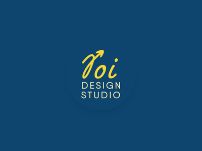 Design Studio Logo hand lettering agency roi logo