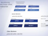 Branding Guidelines Website Buttons
