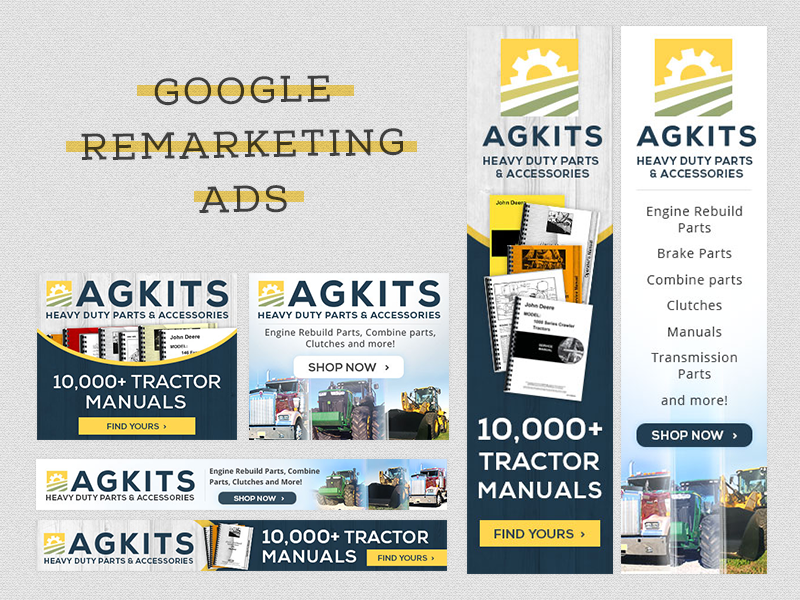 Google Remarketing Ads manuals tractor ag agricultural engines clutch ads remarketing google
