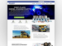 Engine Parts Landing Page