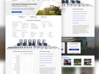 John Deere Landing Page