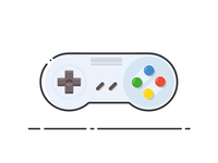 Super Nintendo Controller !