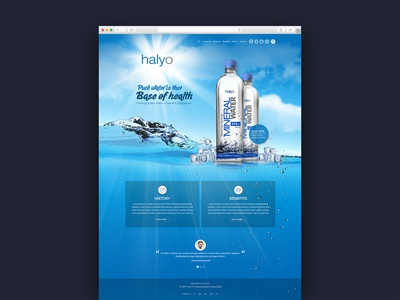 Website For Mineral Water Company